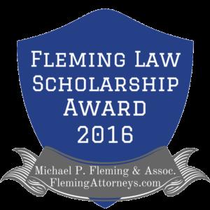 Fleming Law Scholarship Award Badge