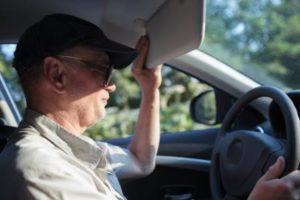 Sun Glare Car Accident Attorneys in Houston
