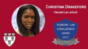 fleming law scholarship award 2017