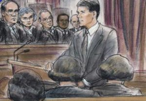 Michael P. Fleming arguing at a Federal Court