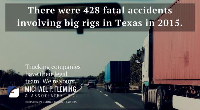 Houston truck accident statistic.