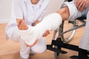 Broken Bone Car Accident Injuries - Traffic Collision Lawyer in Houston
